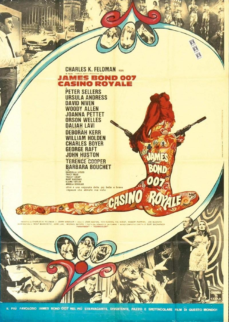 bond casino royale 1967